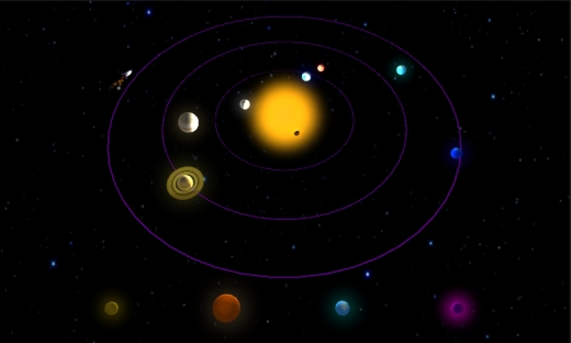 Just for fun: Our Own Solar System!